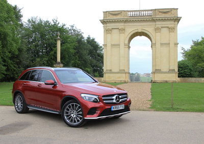Mercedes GLC first drive: SUVving to consider