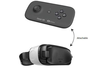 Samsung Gear VR getting its own gamepad? Clips into headset when not in use