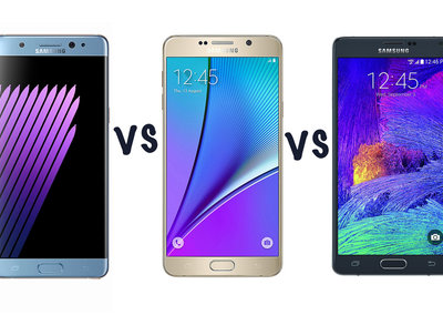 Samsung Galaxy Note 7 vs Note 5 vs Note 4: What's the difference?