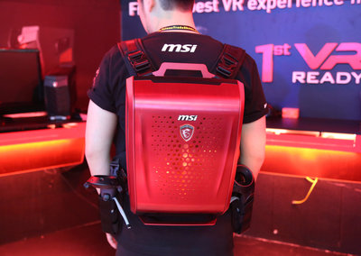 Are backpack VR PCs really a thing now? MSI, Zotac and HP think so