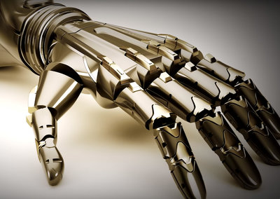Konami isn't only games company making bionics, behold the Deus Ex cybernetic arm