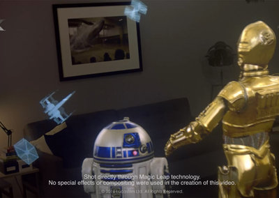 Stunning Magic Leap Star Wars team-up brings C3P0 and R2-D2 into augmented reality