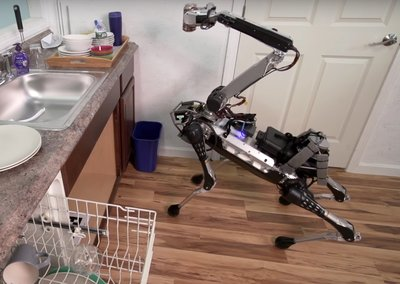 Boston Dynamics' latest robot dog can do your dishes and fetch a soda