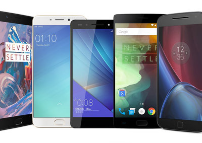 Which is the best 2017 budget smartphone under £350?
