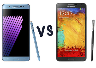 Samsung Galaxy Note 7 vs Galaxy Note 3: What's the difference?
