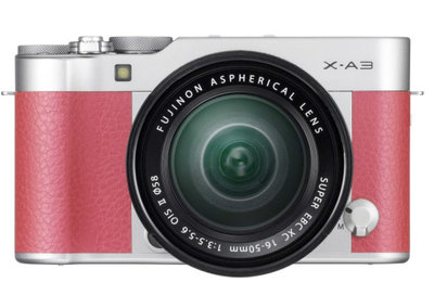 Fujifilm X-A3: Selfie-focused compact system camera ups the resolution ante