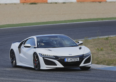 Honda NSX first drive: The high-tech hooligan