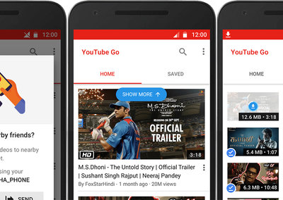 YouTube Go app is designed for users with data limits, hits India first