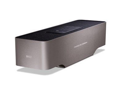 Porsche Design's first audio products have been made with KEF