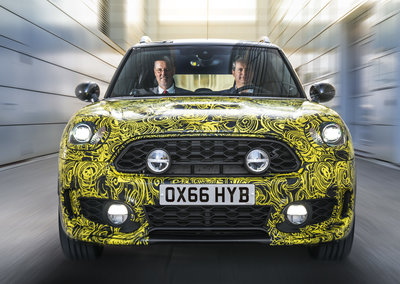 Mini's hybrid test car offers a glimpse into an electric future