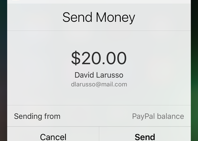 You can now ask Siri to send money using PayPal