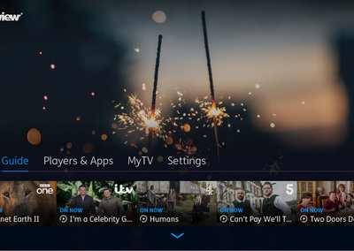 YouView unveils new faster, cleaner, TV user interface
