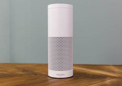 White Amazon Echo in pictures, get it for £50 off