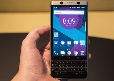 BlackBerry KeyOne preview: Fingerprint scanner and QWERTY keyboard for BB's next flagship