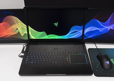 Razer Project Valerie: Crazy gaming laptop concept packs in three screens