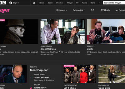 "BBC iPlayer will reinvent itself by 2020 to be ""number one online TV service in the UK"""