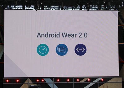 Google shows off Android Wear 2.0 update: standalone apps, handwriting keyboard, and more