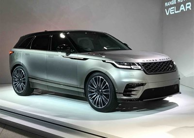 Range Rover Velar: A tech packed 4x4 for a new generation