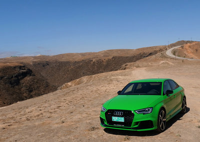 Audi RS3 Saloon review: Racecar fun for the road