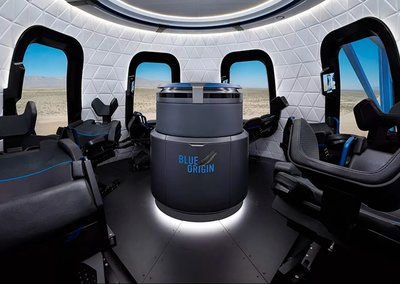 Blue Origin shows off first interior photos of its tourist space rocket