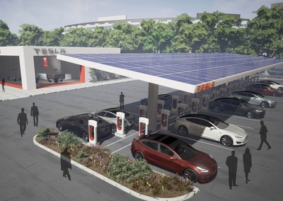 Tesla plans to double the number of Supercharger stations in 2017