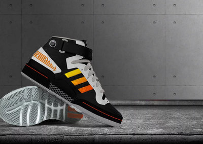 Want to see the best Adidas trainers ever? Sneakers with built-in drum machine
