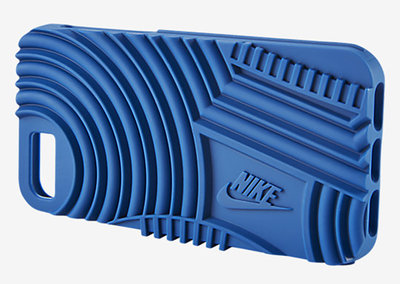These Nike iPhone cases are styled like the bottom of your shoes