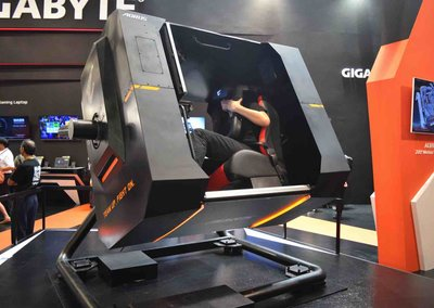 Gigabyte VR 720 Motion Stimulator at Computex shows future of VR