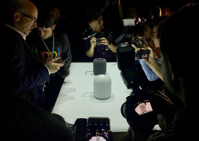 Apple HomePod preview: Say hello to Apple's smart Siri speaker