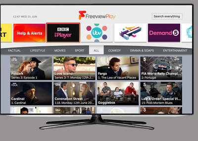 Freeview Explore serves up the best daily on-demand content