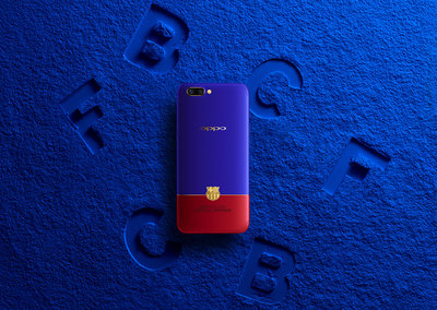 Grab yourself a Barcelona edition Oppo R11 for a lot less than £198 million