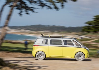 VW revives the iconic camper van design with I.D. Buzz, goes on sale in 2022