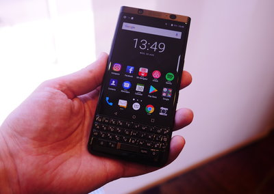 BlackBerry KeyOne black edition: Hands on with the stealthy upgrade