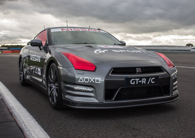 Nissan created a PS4-controlled GT-R, and we've driven it
