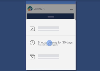 Don't want to unfollow a friend? Facebook now lets you 'snooze' them