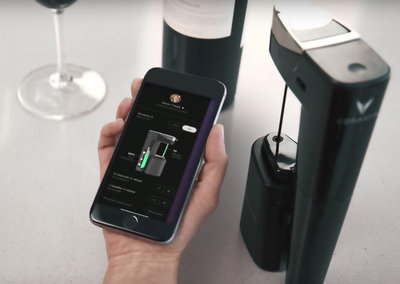This £900 gadget lets you pour wine without actually opening a bottle