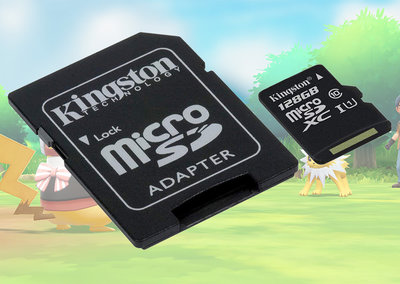 128GB Kingston microSD card just £17 for Black Friday, great for Nintendo Switch