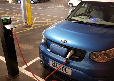 How to find electric car charging points on Google Maps