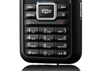"3 ""Skypephone"" mobile phone"