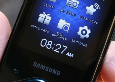 Samsung YP-Q1 Diamond MP3 player