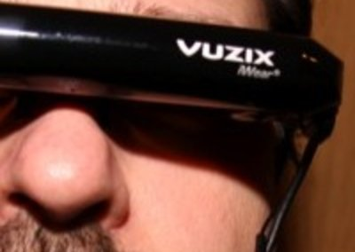 Vuzix iWear AV230 XL video glasses