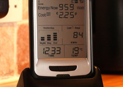 Current Cost CC128 ENVI electricity monitor