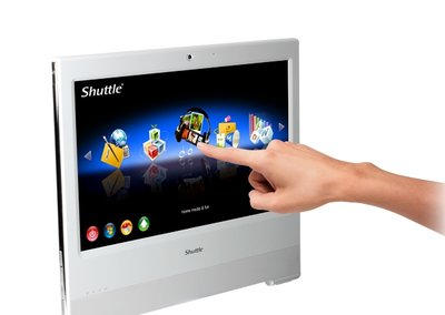 Shuttle X Vision X5000T all-in-one PC