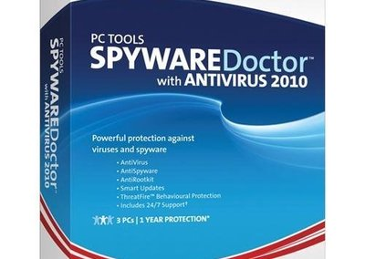 PC Tools Spyware Doctor with Antivirus 2010