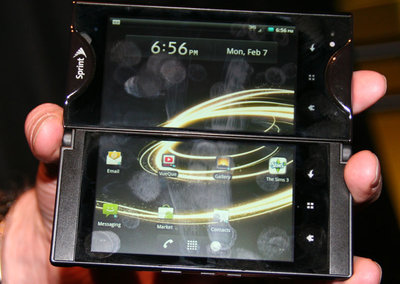 First Look: Sprint Kyocera Echo