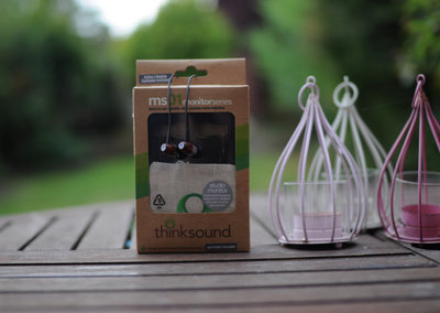 Thinksound MS01 wooden earphones