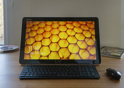 Sony Vaio Tap 20 all-in-one touchscreen PC
