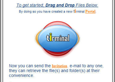 Tirminal launches free file transfer service