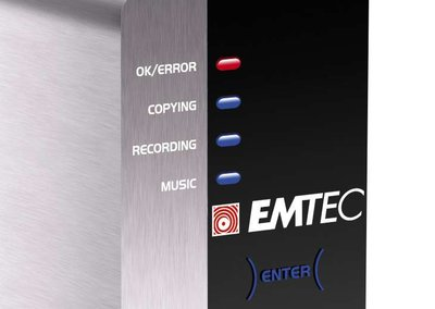 EMTEC launches Movie Cube-R multimedia hard drive