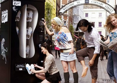Carnaby Street gets trainer vending machine